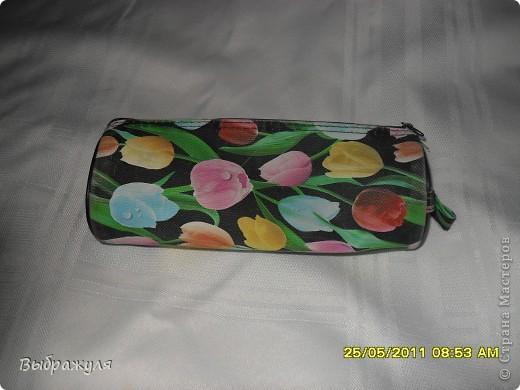 Вот такой пенал для рукоделия я всегда ношу в своей дамской сумочке. фото 2