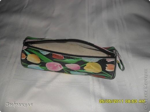Вот такой пенал для рукоделия я всегда ношу в своей дамской сумочке. фото 3