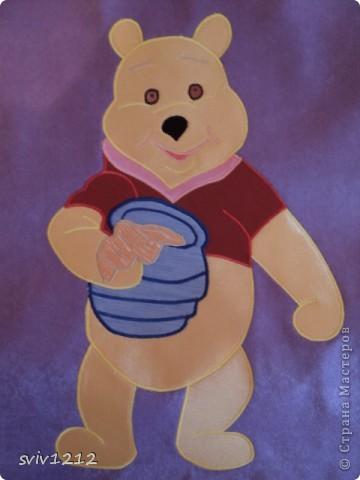 Рисунок для детской аппликации из ткани