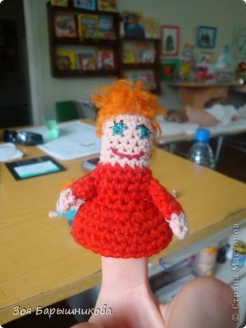 Эти куколки связаны крючком для кукольного театра. фото 3