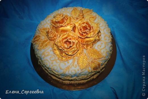 "Торт ""Золото розы"" фото 1"