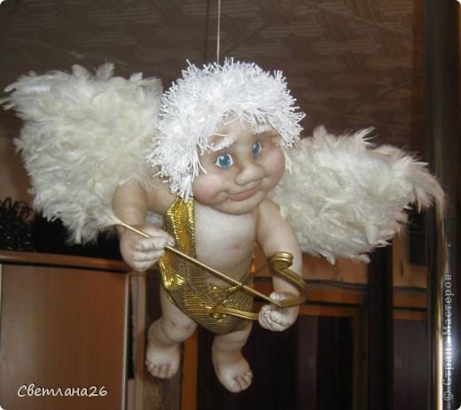 Теперь у меня в доме живет Бог любви!!! Висит под потолком и крутится в разные стороны. фото 6