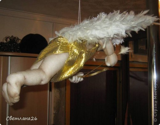Теперь у меня в доме живет Бог любви!!! Висит под потолком и крутится в разные стороны. фото 7