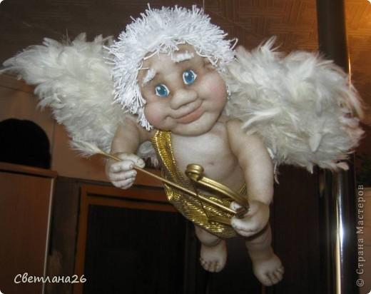 Теперь у меня в доме живет Бог любви!!! Висит под потолком и крутится в разные стороны. фото 1