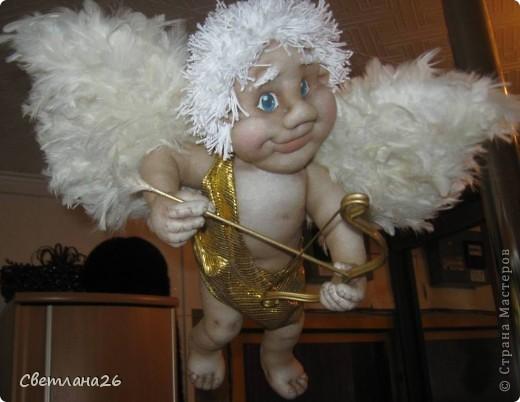 Теперь у меня в доме живет Бог любви!!! Висит под потолком и крутится в разные стороны. фото 8