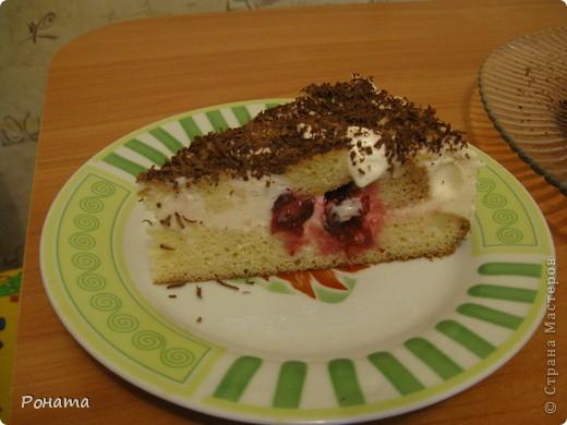 """Вот еще собрала несколько фотографий тортов. Их я делала на разные семейные праздники. Ну ооооочень вкусные! А главное, приготовлены из хороших продуктов, знаешь, что туда положено. Торты в магазине уже лет 5 не покупаем :)  Торт """"Тропиканка"""".  Этот суперский тортик очень хлопотный, но гости были в приятном шоке!  Рецепт взят отсюда - http://forum.hlebopechka.net/index.php?showtopic=2321. фото 6"""