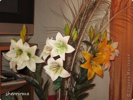 Хризантема .. Прошу прощения, но не помню по чьему МК её делала ((( фото 5