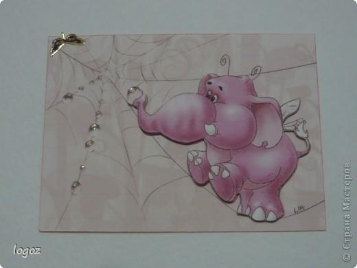 Слоны и улитка объемные. фото 2