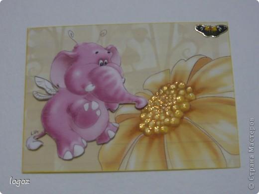 Слоны и улитка объемные. фото 3