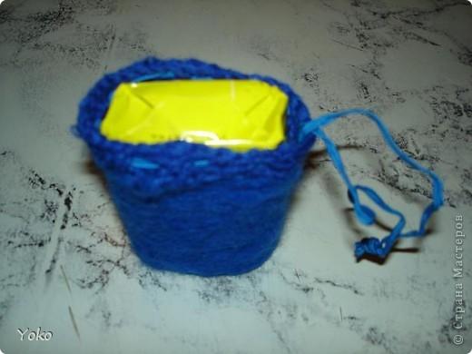 """Девочки, вот и мои валяшки! Не удивляйтесь, что все одного цвета: оторвалась на одной единственной покупке. Любимейшие тапочки (зношенные до """"дыр""""). За МК спасибо Kukushechka http://stranamasterov.ru/node/57767 фото 6"""
