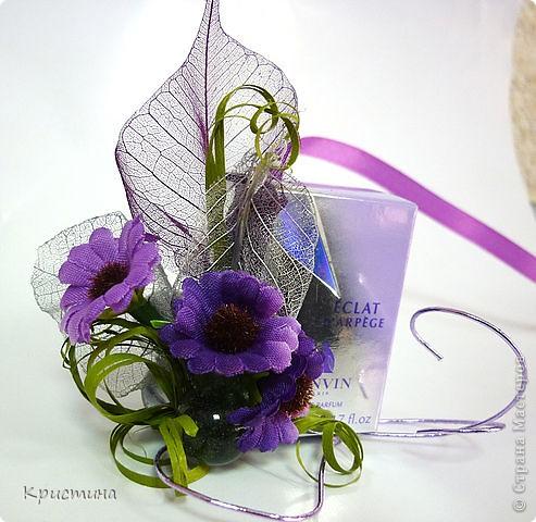 Упаковка маленьких духов - сделала Кильметова Ирина фото 5