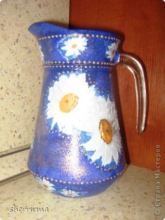 Набор банка для кофе, салфетница и графин для воды .. фото 2