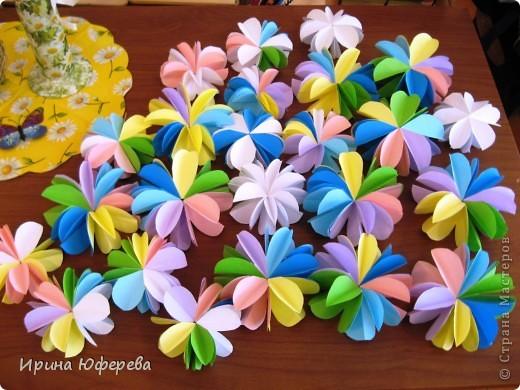http://stranamasterov.ru/node/175045?c=favorite - вот благодаря этой ссылке и мастерице сегодня 27 мая после уроков мои 2клашки оторвались на этих цветочках.  фото 1