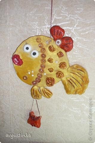 "Рыбка ""Розовая мамашка"" фото 4"