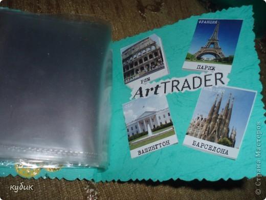 вот такой альбомчик я сделала для АТС карточек , идею взяла здесь у мастериц, за что им огромное, огромное спасибо!!!!!!!!!!!!!!!!!!! фото 4