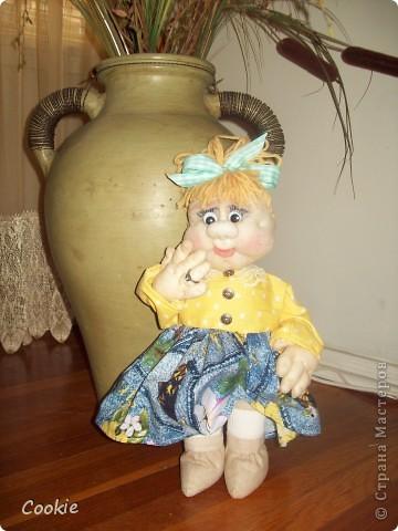 Мои текстильные куклы. фото 3