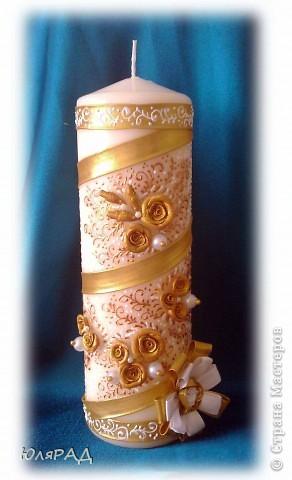 Золотая свеча фото 1