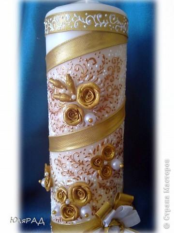 Золотая свеча фото 2