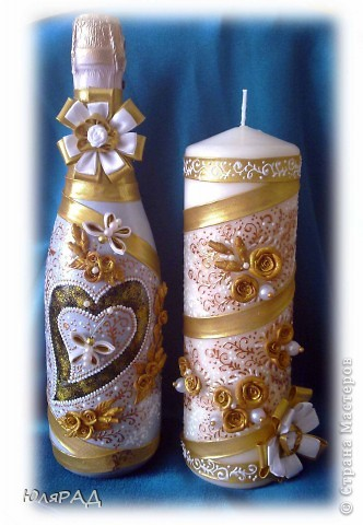 Золотая свеча фото 4
