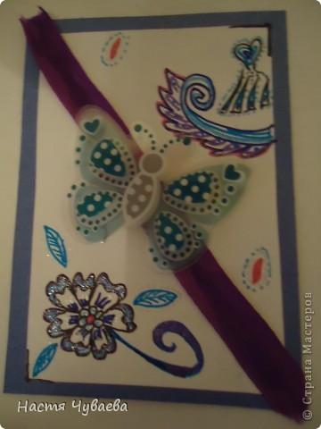 Мои карточки. Серия: бабочки фото 3