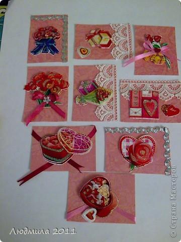 """Вот такие карточки получились у меня, серия называется """"Подарок"""". Первыми выбирают Vitulichka  и   Елена Дичко-Сторожук (если конечно, понравится (я у них в долгу))!  фото 1"""