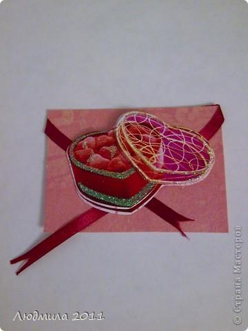"""Вот такие карточки получились у меня, серия называется """"Подарок"""". Первыми выбирают Vitulichka  и   Елена Дичко-Сторожук (если конечно, понравится (я у них в долгу))!  фото 4"""