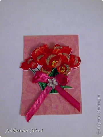"""Вот такие карточки получились у меня, серия называется """"Подарок"""". Первыми выбирают Vitulichka  и   Елена Дичко-Сторожук (если конечно, понравится (я у них в долгу))!  фото 6"""