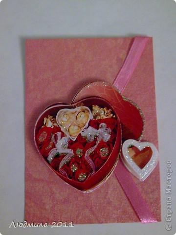 """Вот такие карточки получились у меня, серия называется """"Подарок"""". Первыми выбирают Vitulichka  и   Елена Дичко-Сторожук (если конечно, понравится (я у них в долгу))!  фото 8"""