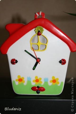 Часы - будильник из детской игрушки