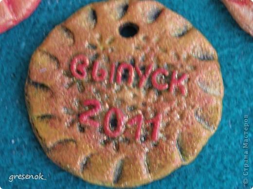 Вот такие медальки я сделала в садик для старших деток из нашей группы фото 2