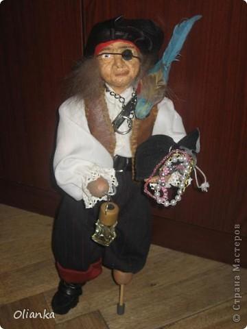 Кукла Пират фото 1