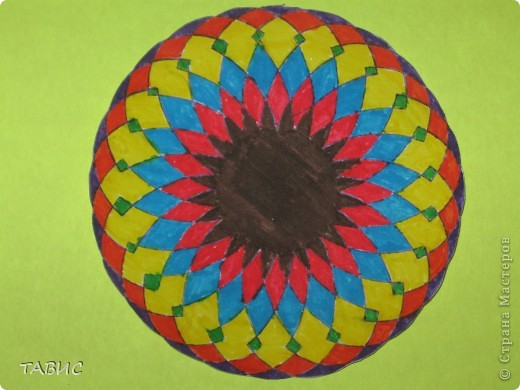 """Эти рисунки сделаны при помощи """"умного"""" прибора спирограф, который позволяет детям и взрослым рисовать композиции аналогичные тем, что получаются при помощи компьютерной программы Coral Draw. Прибор позволяет развивать у детей координацию движений, аккуратность, точность, внимательность, трудолюбие, чувство ритма, фантазию. фото 5"""