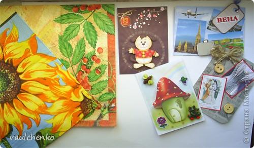 """Как же появляются эти маленькие карточки? Иногда совершенно случайно: прислали чудесные подарочки - красивую бумагу, а дочка купила наклеечки с цветами. И вот.... История аранжировки цветов - писать на карточке это очень длинно, поэтому просто - """"БУКЕТЫ"""" Карточки разделены на группы - совершенно разные  по художественному оформлению! фото 17"""