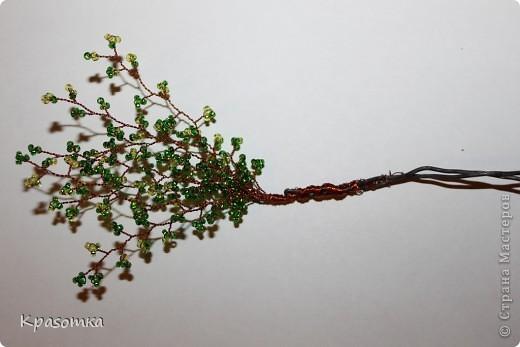 ССЫЛКА НА ЧАСТЬ1: http://stranamasterov.ru/node/199607 Здравствуйте уважаемые мастера и мастерицы! Во второй части наших уроков я бы хотела подробно рассказать как сделать каркас нашей будущей березки. Этот урок, я думаю,  можно будет брать за основу при выполнении других видов деревьев. У нас уже готовы ветви нашего дерева. Их 7 штук. фото 9