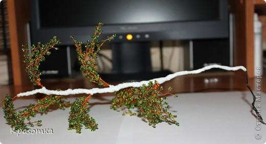 ССЫЛКА НА ЧАСТЬ1: http://stranamasterov.ru/node/199607 Здравствуйте уважаемые мастера и мастерицы! Во второй части наших уроков я бы хотела подробно рассказать как сделать каркас нашей будущей березки. Этот урок, я думаю,  можно будет брать за основу при выполнении других видов деревьев. У нас уже готовы ветви нашего дерева. Их 7 штук. фото 18