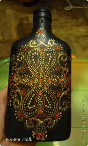 Вот такая новая бутылочка у меня родилась... фото 1