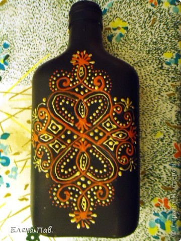 Вот такая новая бутылочка у меня родилась... фото 2