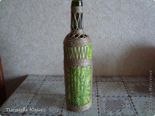 Декор баночек, бутылочек фото 2