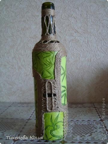 Декор баночек, бутылочек фото 5