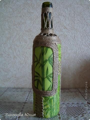 Декор баночек, бутылочек фото 1