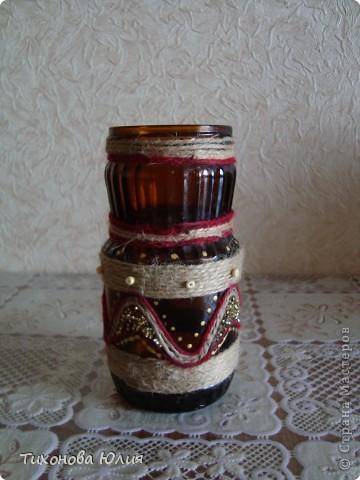 Декор баночек, бутылочек фото 4