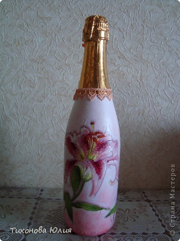 Декор баночек, бутылочек фото 7