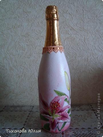 Декор баночек, бутылочек фото 8