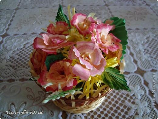 """Цветочки выполнены из глины """"GLAYCRAFT"""" By DECO фото 3"""