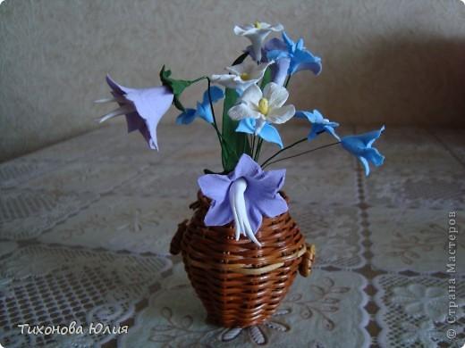 """Цветочки выполнены из глины """"GLAYCRAFT"""" By DECO фото 2"""