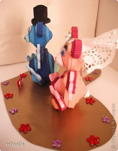 Знакомьтесь, это Шурик и Иришка! Такой подарок к 15-летию со Дня Свадьбы своих родителей сделали фото 6