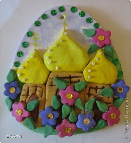 Эта поделка была сделана дочкой к празднику Святой Пасхи. фото 2