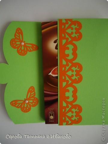 Я к вам снова с шоколадницами.На этот раз зелеными :)  фото 4
