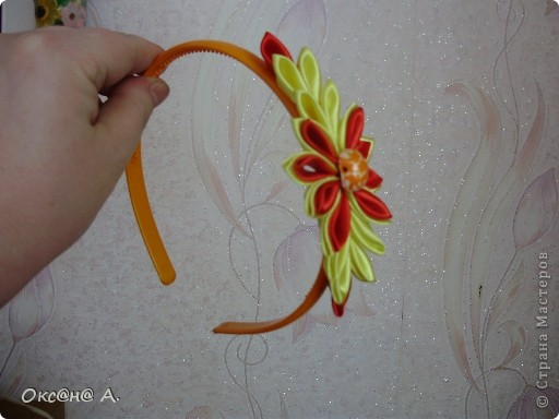 Еще мои работы канзаши))) фото 3