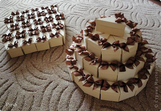 Это (наверное никто не догадается) заготовки для торта из бонбоньерок. Замечательная идея принадлежит Татьяне62 ( http://stranamasterov.ru/node/160727 ) фото 9